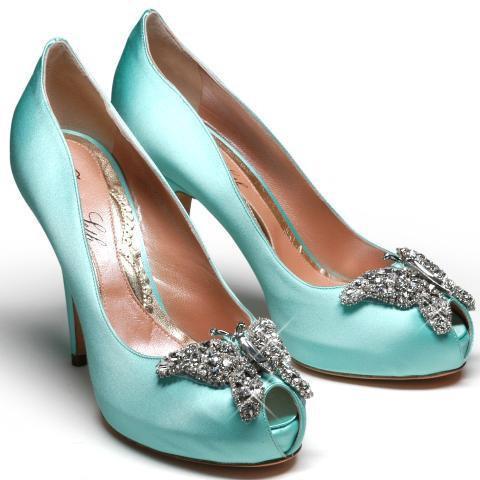 Aruna Seth Tiffany Blue Satin £625