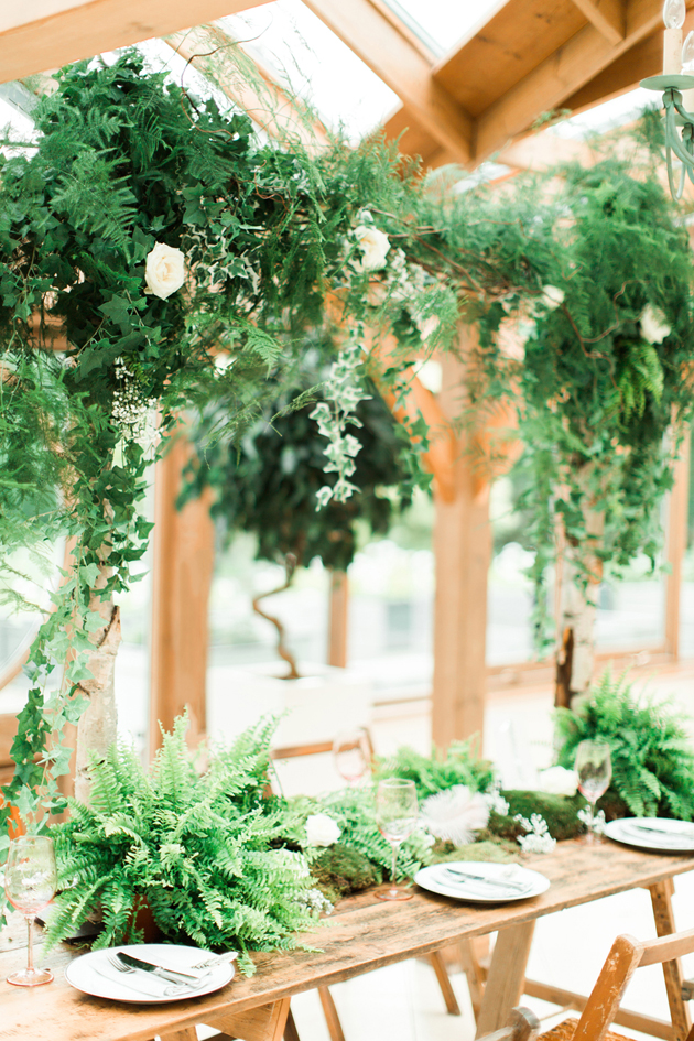 Fresh Foliage Gaynes Park -Sanshine Photography - As featured on Bridal Musings