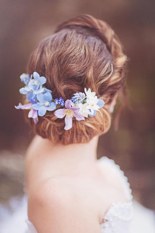 Fairy tale wedding inspiration. Image by Sanshine Photography
