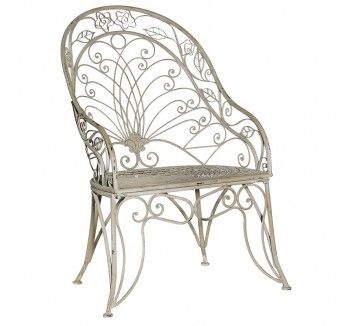 Grey Garden Chair - 2 Available