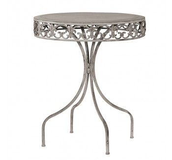 Grey Garden Table - 1 Available