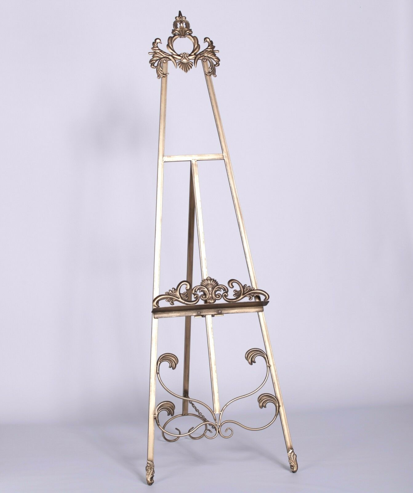 Antique Gold Easel - 2 Available