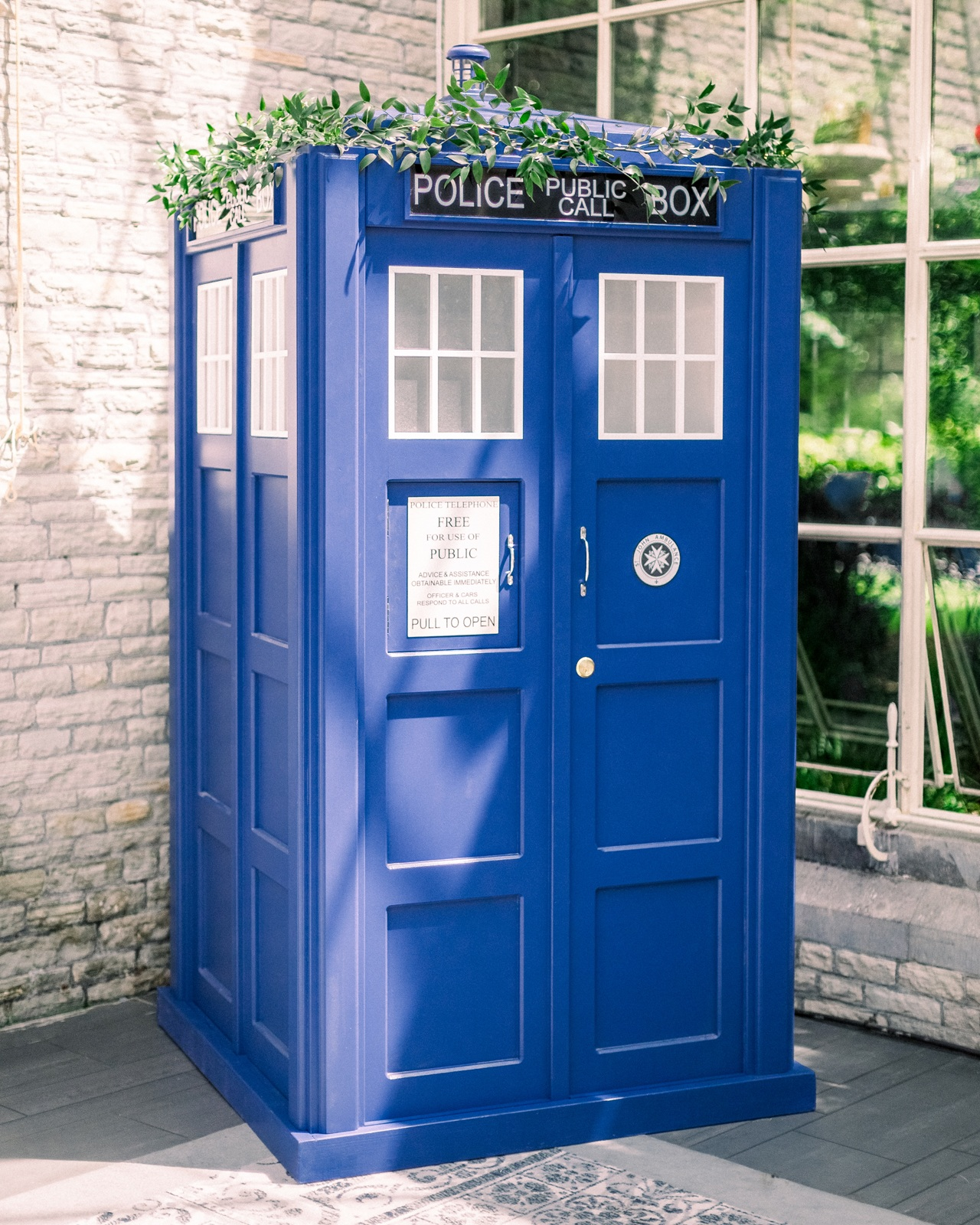 Full Size Blue Police Box - 1 Available