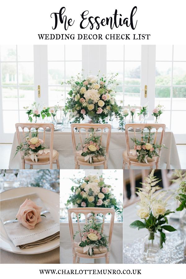 Charlotte Munro Wedding's essential wedding decor checklist for couples .jpg