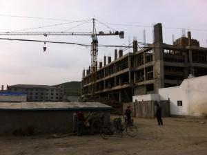 Construction in Rajin