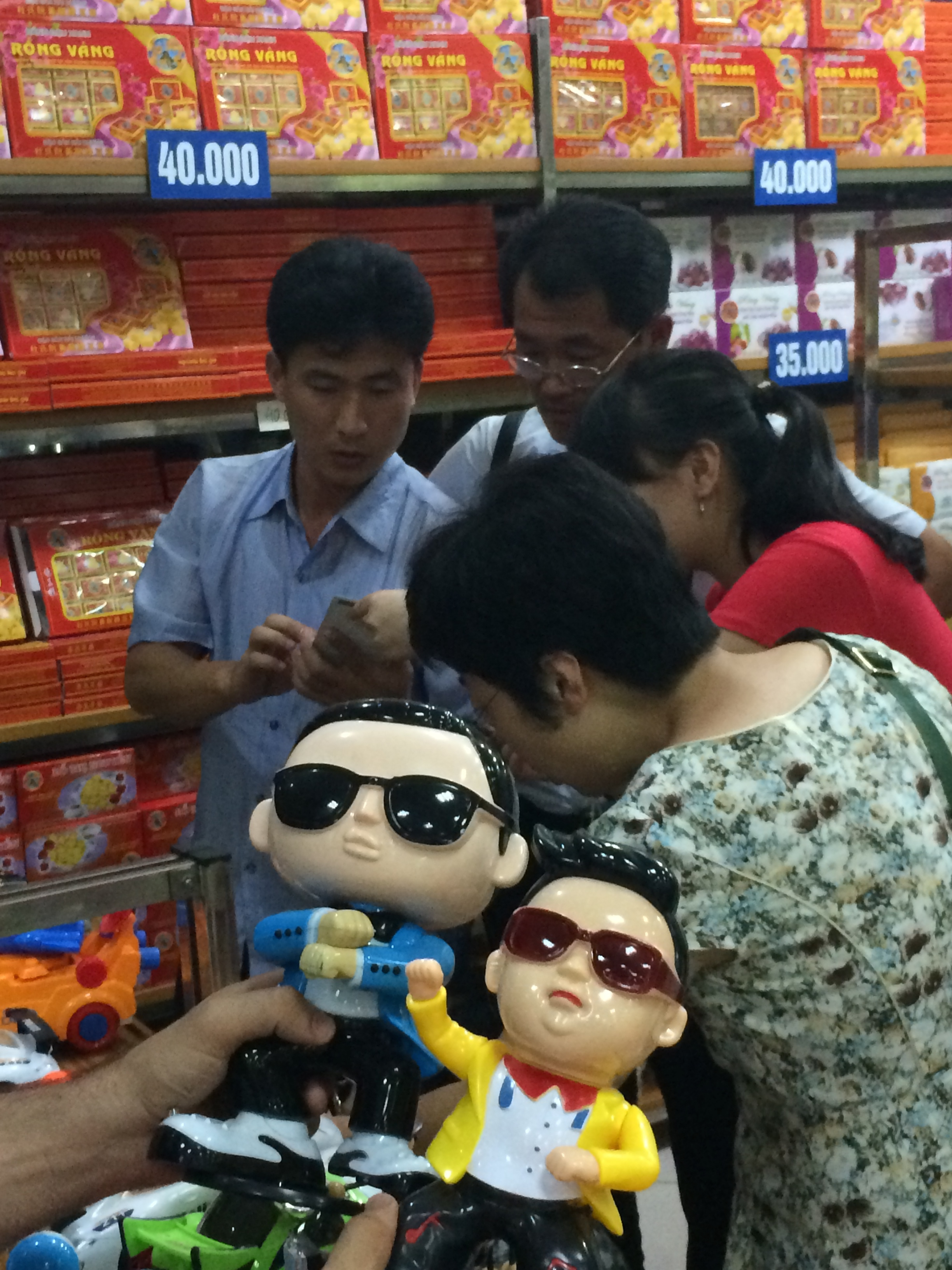 You can run but you can't hide (from Psy) in Vietnam.