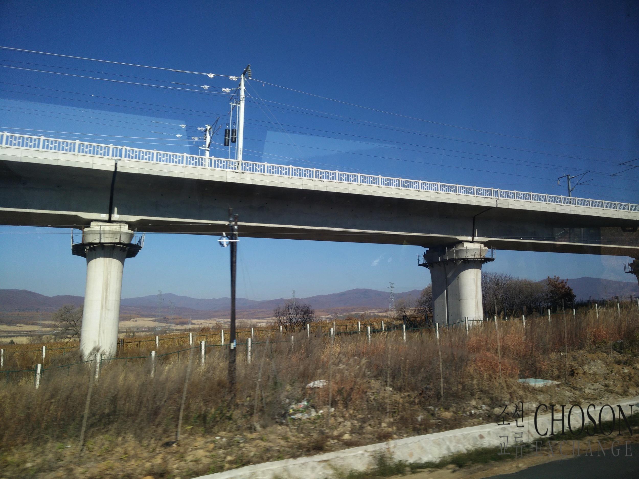 Look left, high speed rail