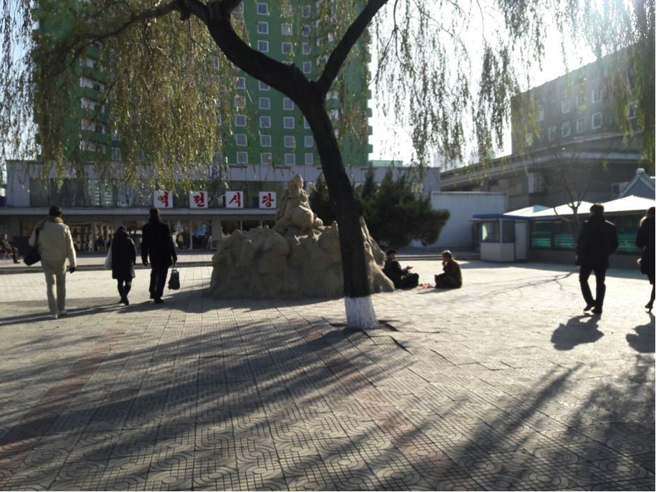 Plaza adjacent to Pyongyang Station