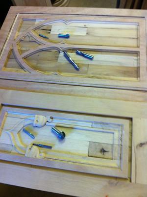 Furniture Cabinet Carvings