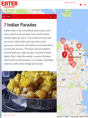 SF Eater Best Indian Food    January 2017