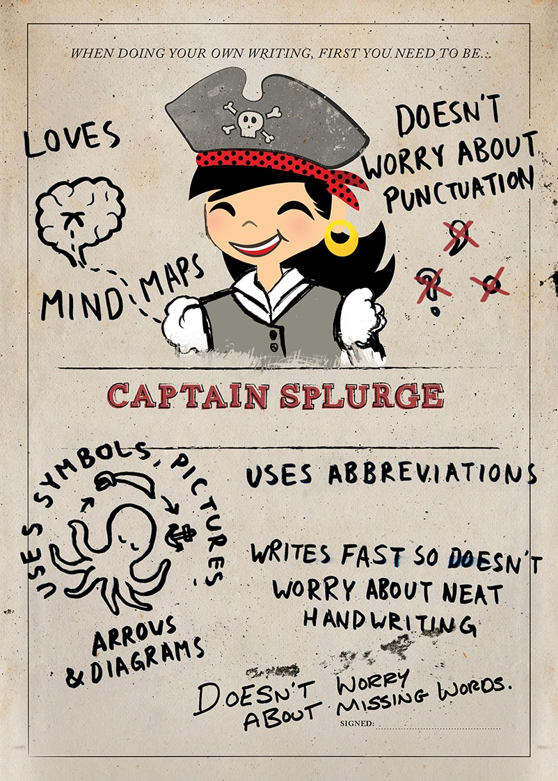 captain splurge