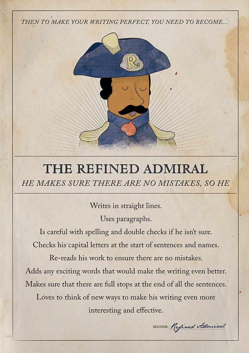 refined admiral