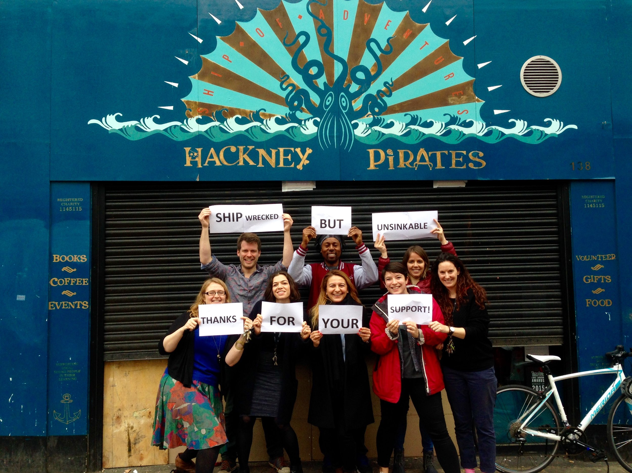 Hackney Pirates - Shipwrecked but unsinkable