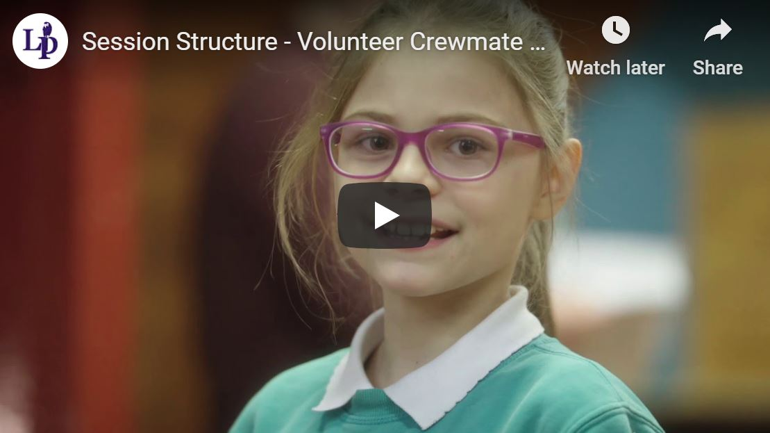 Session Structure - Volunteer Crewmate Taster Video (part 2)