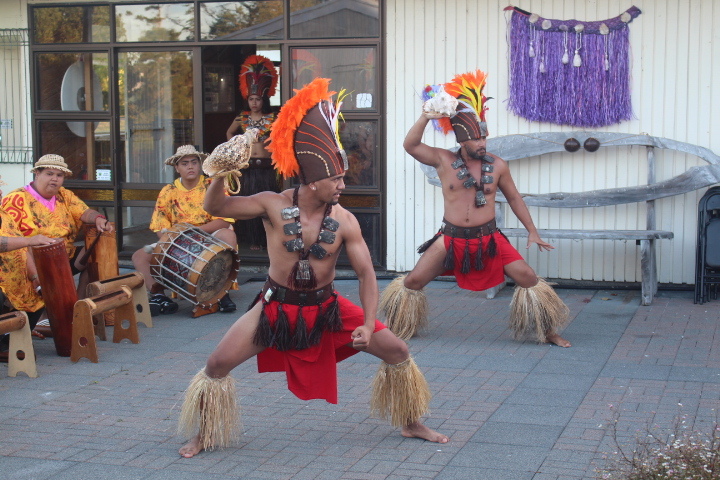 Ia Ora na from Tahiti - high energy dancers and drummers.