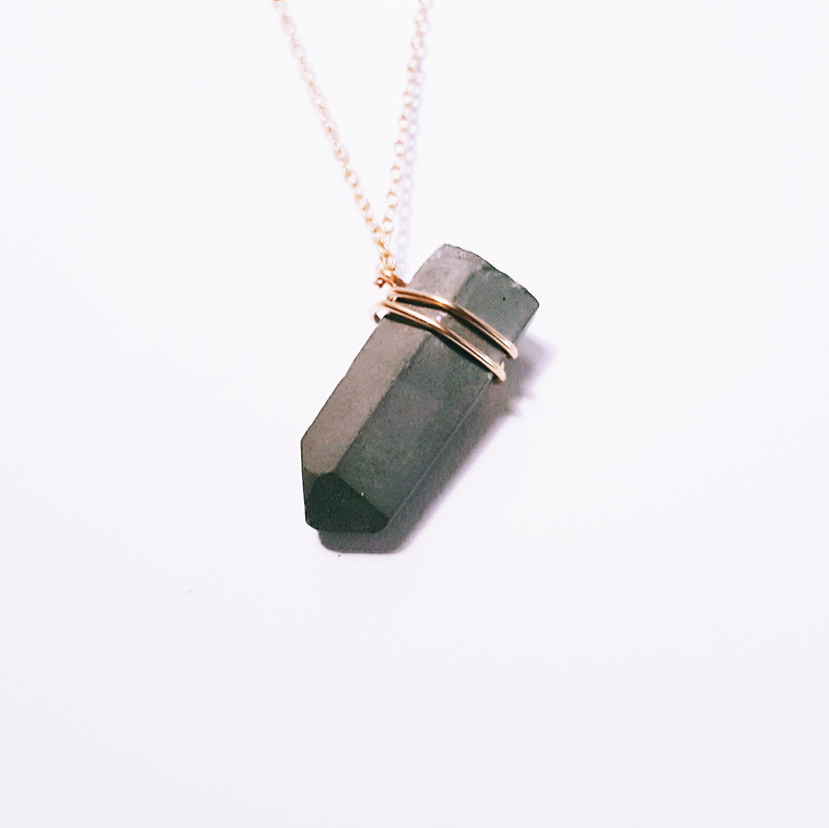 The Artemis - Gold - Little Eli Concrete Jewelry