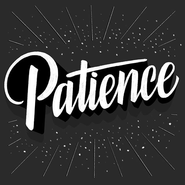 patience: trying out @jamesllewis 's #3Dlettering style for #goodtypetuesday took a lot of it 🙃  _____________________________________ #lettering_daily #ligaturecollective #thedailytype #typelove #handmadefont #typegang #typeyeah @typeyeah #showusyourtype #perspectivecollective #typetopia @typetopia #calligritype #designspiration @designspiration #goodtype @goodtype #strengthinletters #typespire #typematters #letteringco #handdrawntype #letteringart #typism #womenofillustration #50words @50wordsongrey #womenwhodraw #typeriot #createdtoday