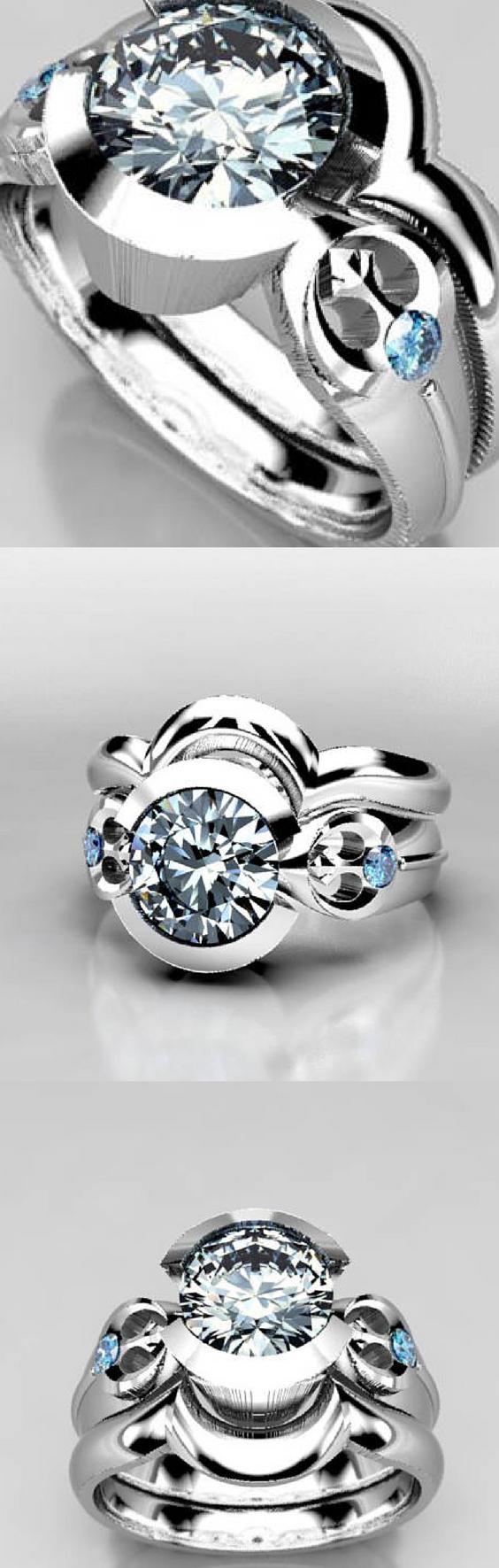Star Wars Rebel Wedding Ring Set