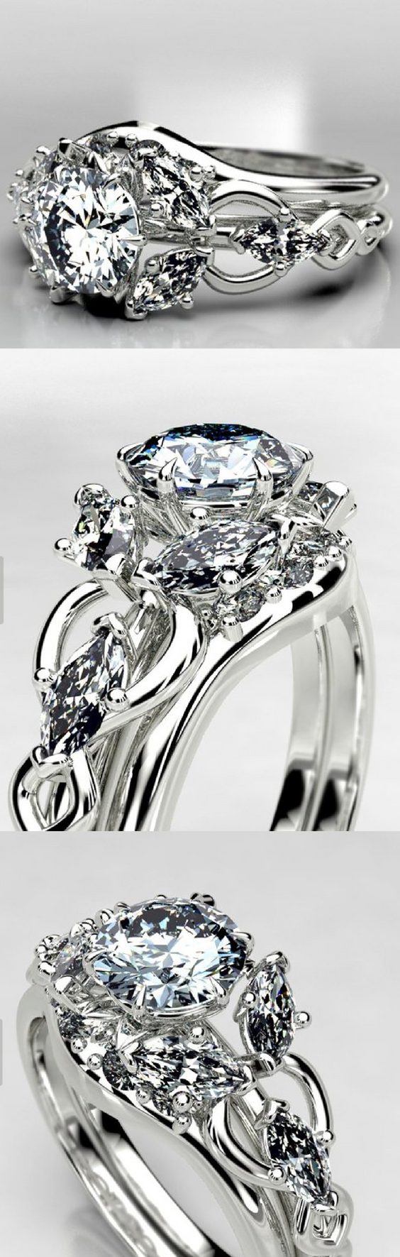 Brilliant Arwen Lord of The Rings Evening Star Moissanite Engagement Ring.png