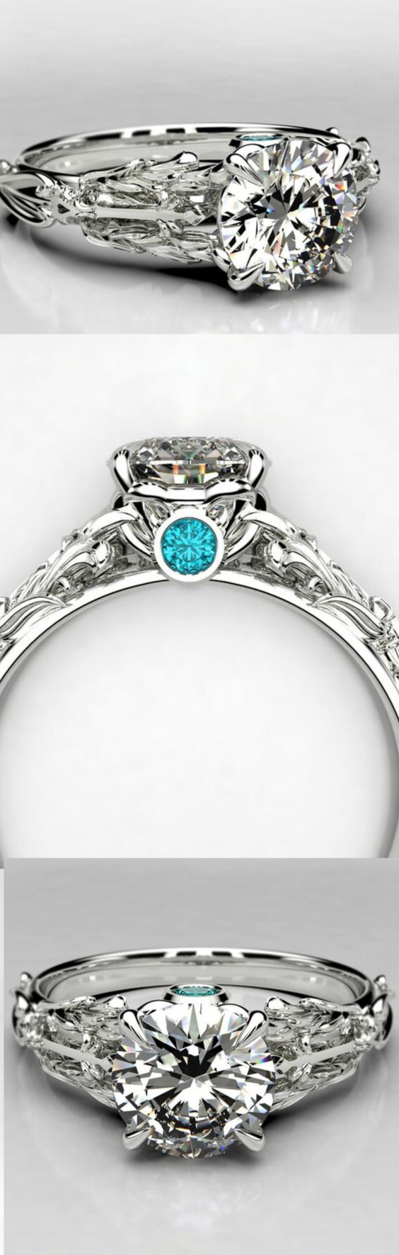 Kingdom Hearts Oathkeeper Keyblade Engagement Ring - Sora Ring .png