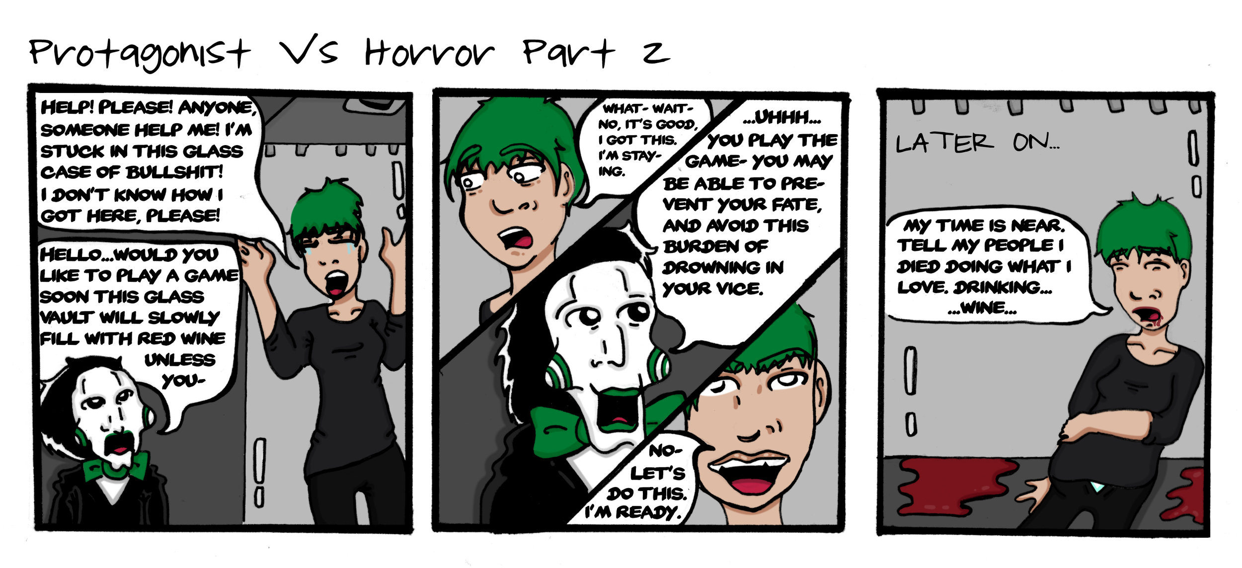 Protagonist Vs Horror Part 2