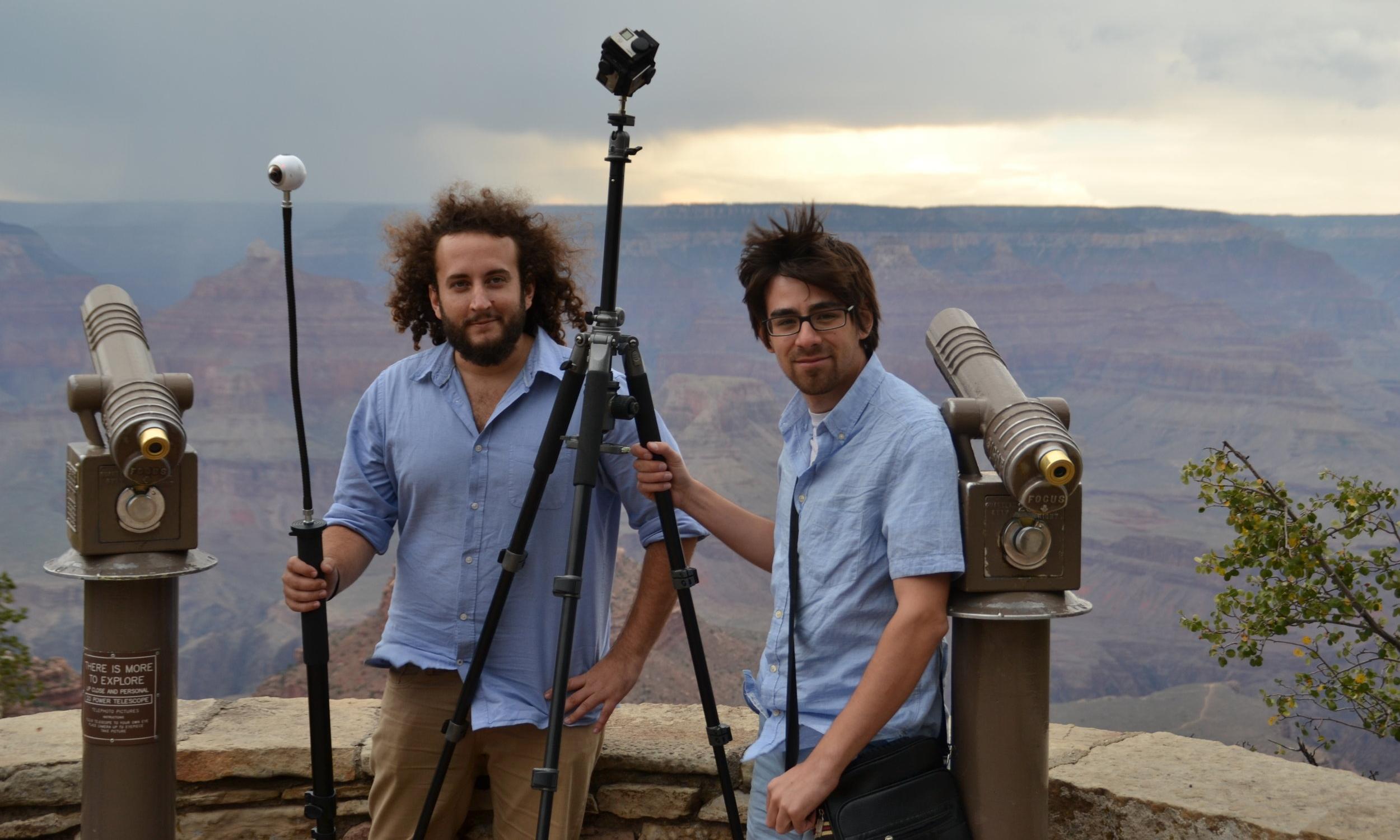 VR Team Hilario Abad y Adriano Pérez Gil Grand Canyon