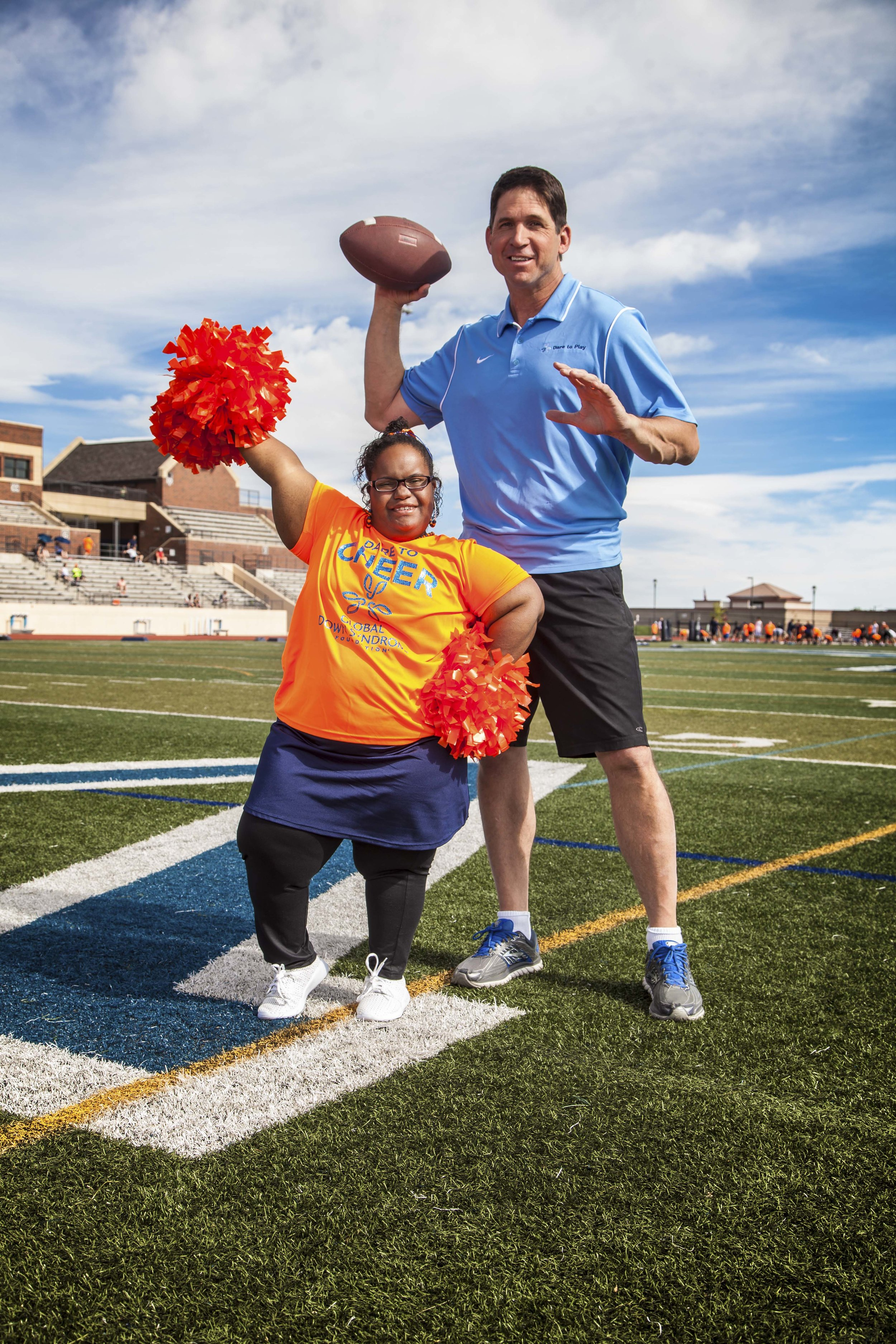 Global Down Syndrome featuring Ed McCaffrey