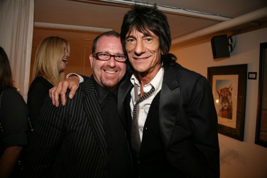 2009-Ronnie Wood & Brian Liss, Los Angeles