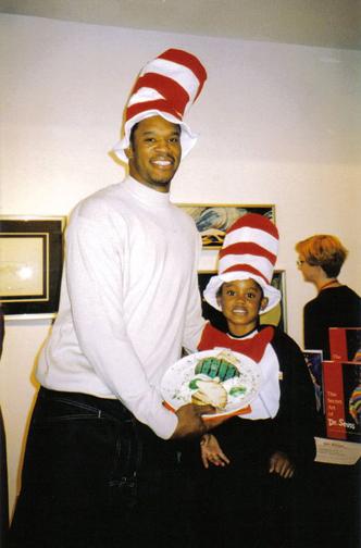 2001-Dr. Seuss Show, Antonio Davis
