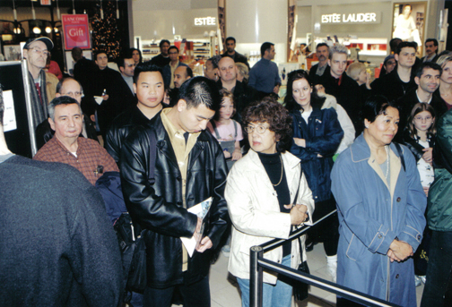 2001-Billy Dee Williams Show at The Bay, Yorkdale
