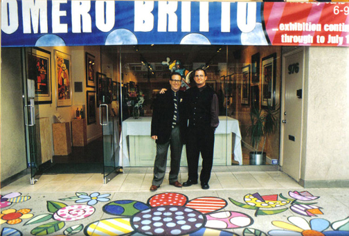1999-Romero Britto Show with Brian Liss & David Reed