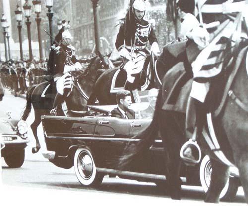 JFK & Degaulle, Paris, 1961
