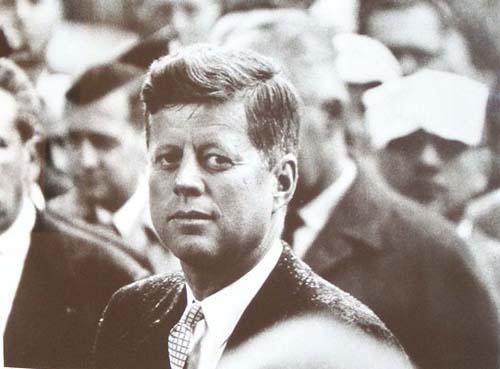 John F Kennedy, Paris, 1961