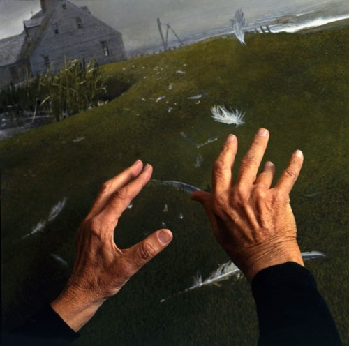Andrew Wyeths Hands, 1996