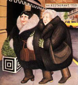 """Bar & Barbara 16""""x14.75"""" - RARE EDITION"""
