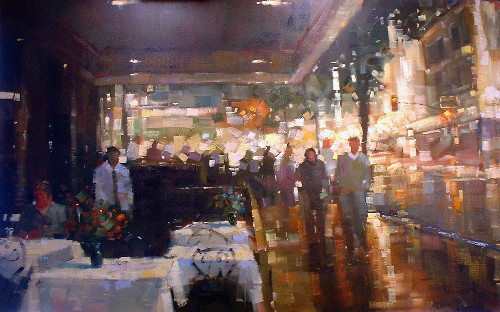 "Night Life 36""x22"" - RARE EDITION"