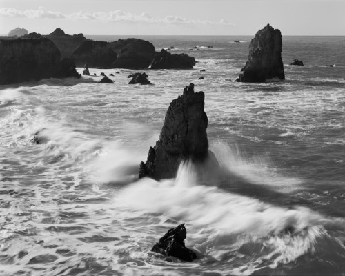 Rocks California Coast