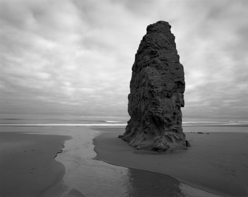 Sea Stack and River