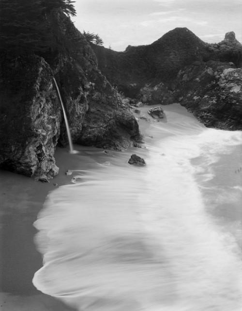 Waterfall California Coast
