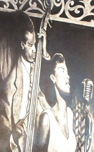 Jazz Duet Drawing