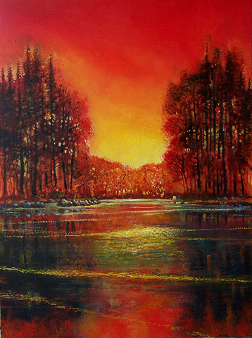 """Heart of Nature 48""""x36"""""""
