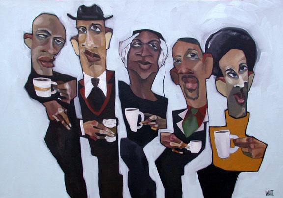 "Cafe Mocha Jive 20""x30"""