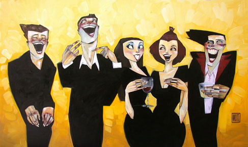"""Get a Sense of Humor 21""""x 28"""" - SOLD OUT EDITION"""