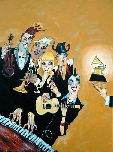 """Grammys 30""""x40"""""""