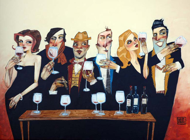 """Just a Taste 30""""x40"""" - SOLD OUT EDITION"""