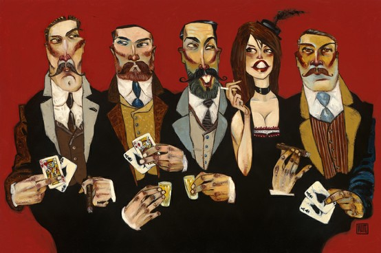 "Rascals Scoundrels & Villains 24""x36"""