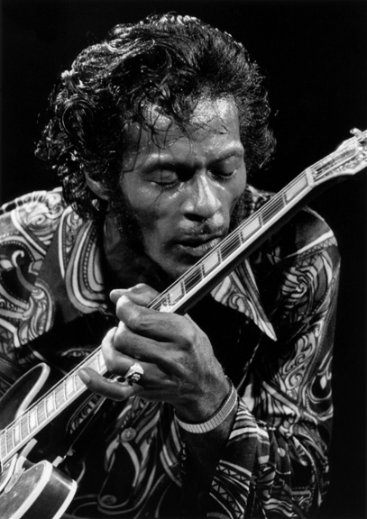 Chuck Berry, NYC, 1971