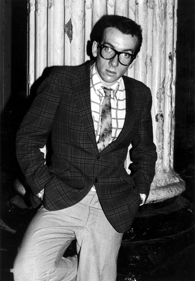 Elvis Costello, London, 1974