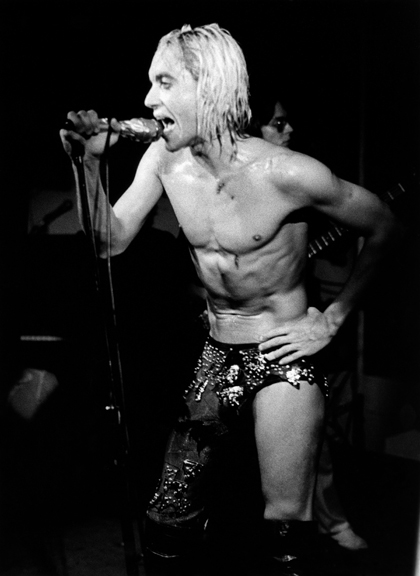 Iggy Pop, NYC, 1996
