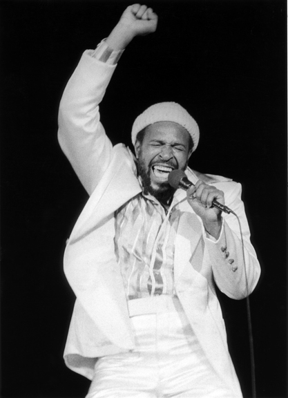 Marvin Gaye, NYC, 1974